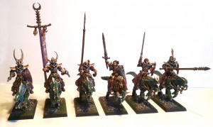 Dark Elf Cold One Riders 1