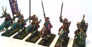 Dark Elf Cold One Riders 3