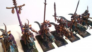Dark Elf Cold One Riders 4