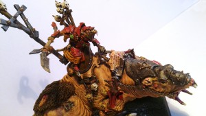 Skaven Warlord on Brood Horror B