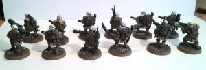 veteran squad 1 B