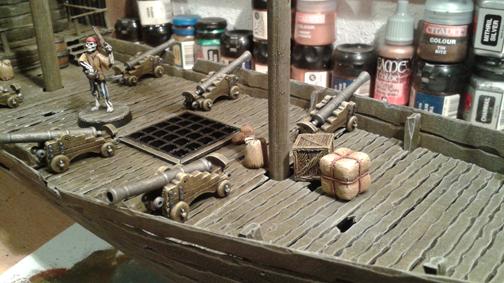 Pirate ship – part II – The Desert Scorpions