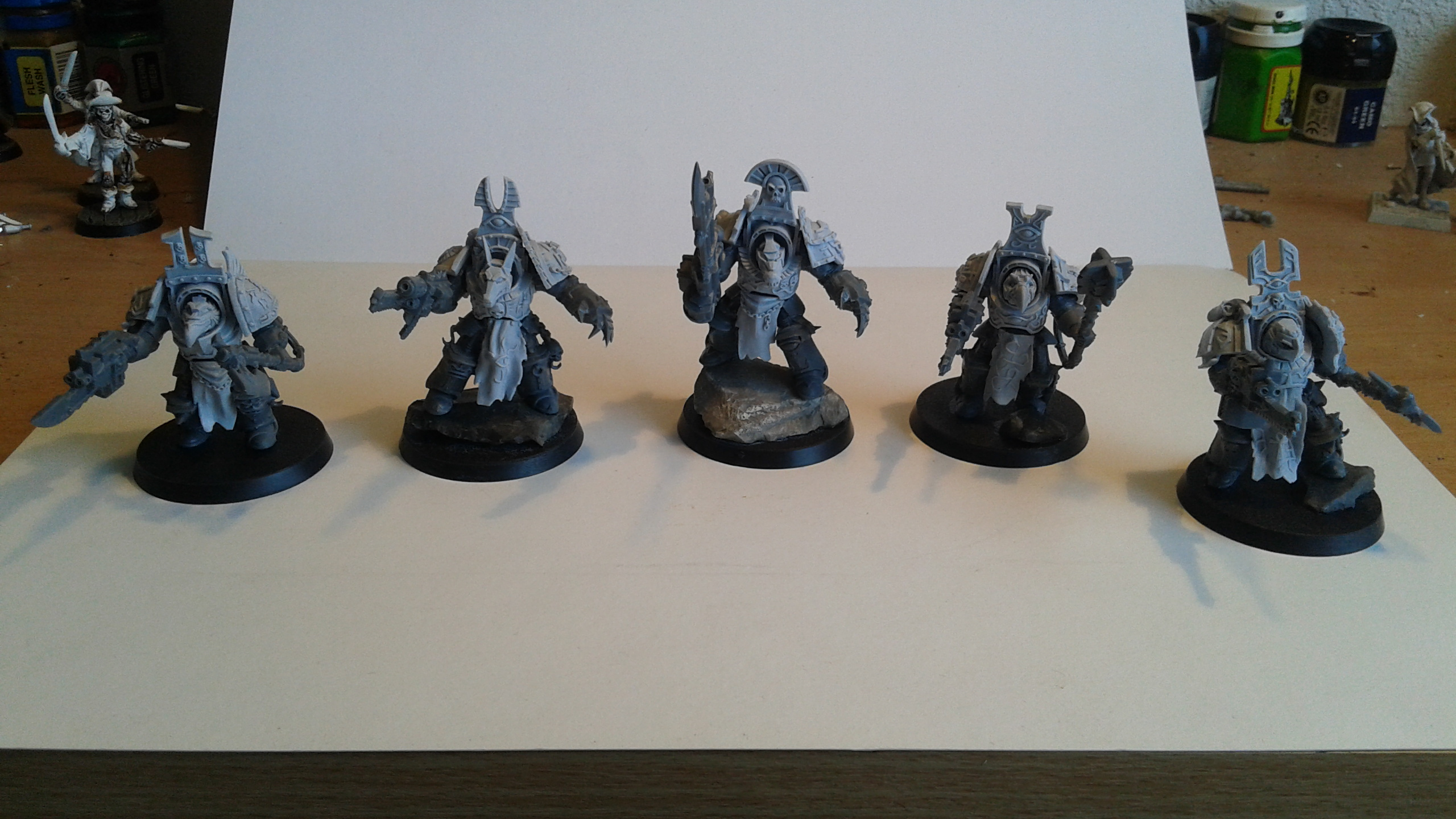 Thousand Sons project – The Desert Scorpions